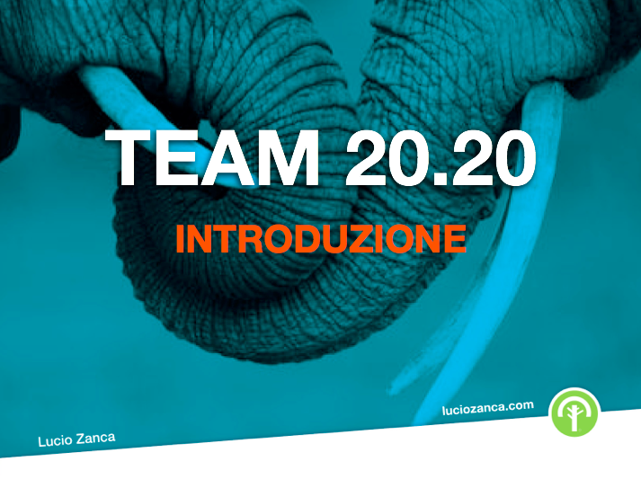 Lucio Zanca - Team 20.20